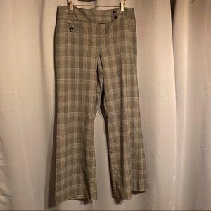 Style & Co Windowpane Plaid Stretch Dress Pants